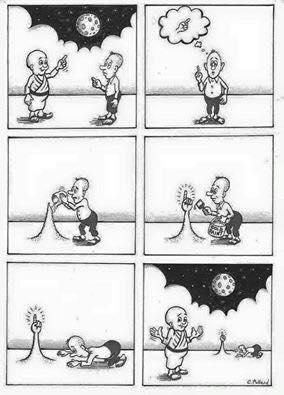 vignetta dito luna